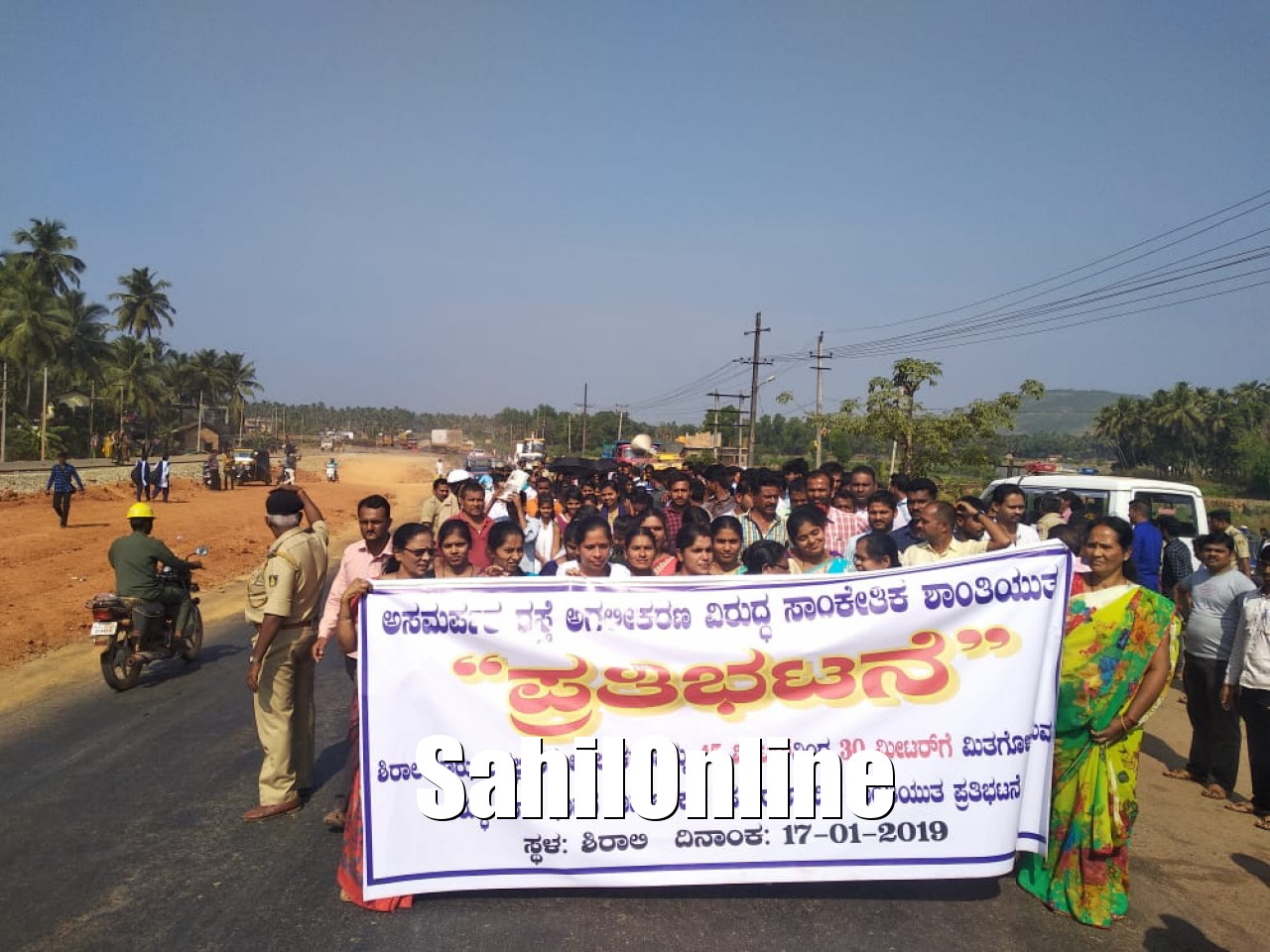 Bhatkal: Shirali residents demand widening of NH 66 road