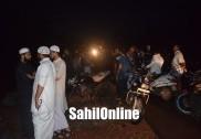 بھٹکل کڈوین کٹہ ڈیم میں نوجوان بہہ کر لاپتہ؛ تلاشی مہم جاری؛ وینکٹاپور ندی کے اطراف سینکڑوں لوگ جمع
