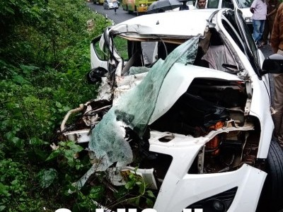 Car-Truck collision on Kumta-Sirsi highway kills 1, injures 3