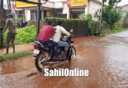 Heavy rain in Uttara Kannada; landslide takes place near Ankola