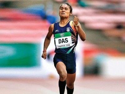 Sprinter Hima Das wins 3rd international gold within 2 weeks