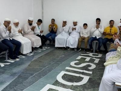 بھٹکل کے علما و ذمہ داران کی دعاوں سے دبئی کے قریبی شہر عجمان میں کھلاڑیوں کے ملبوسات کے شوروم  کا خوبصورت افتتاح