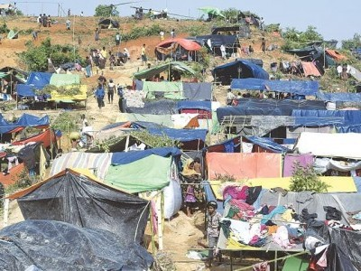 بنگلہ دیش: شدید بارش سے 50 ہزار روہنگیا متاثر، 5 ہزار پناہ گاہیں تباہ، 10 ہلاکتیں