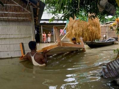 آسام میں سیلاب سے حالات بہت خراب، اب تک ہو چکی ہیں 11 اموات