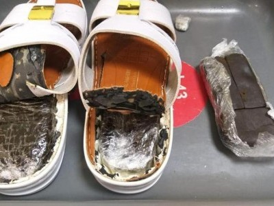 Man nabbed from Kannur airport with Rs 7 lakh worth hashish in slippers