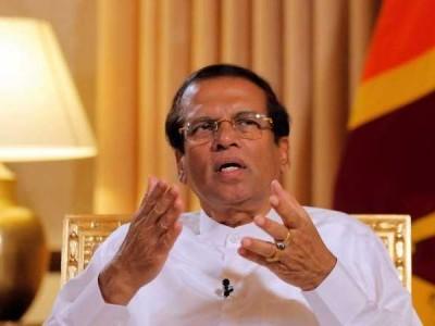 سری لنکا چرچ بم بلاسٹ میں ڈرگ مافیاکا ہاتھ ہے۔ صدر سیری سینا کا بیان