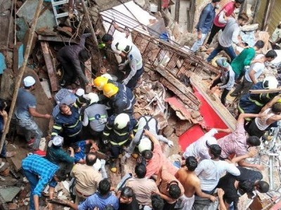 Mumbai building collapse: Death toll rises to 13, efforts continue to rescue 40 still trapped
