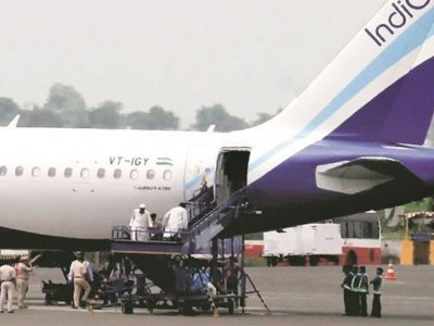 IndiGo flight with 180 passengers makes emergency landing at Goa airport