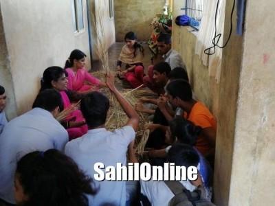 بھٹکل کے اپاہج بچوں کی سنیہا خصوصی اسکول میں مشروم(البے) کی کاشت: اخراجات نبھانے کےلئے اسکول کا انوکھا طریقہ