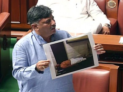 K'taka Speaker seeks report on rebel Cong MLA Shrimant Patil