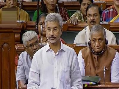 پارلیمنٹ میں وزیر خارجہ جے شنکرنے کہا،بے قصور ہے کلبھوشن جادھو، رہا کرے پاکستان