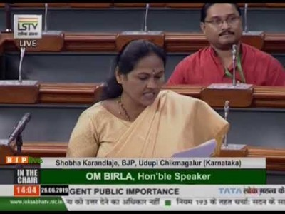 'Fight there, not here': Lok Sabha Speaker tells Karnataka MP on water dispute