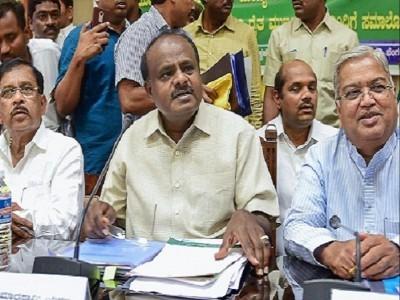 کرناٹک: وزیراعلیٰ ایچ ڈی کمارا سوامی کرینگے فلور ٹیسٹ کا سامنا