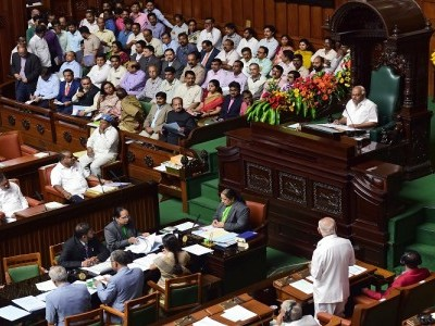 K'taka Assembly fails to meet 1.30 pm deadline for trust vote set by Governor