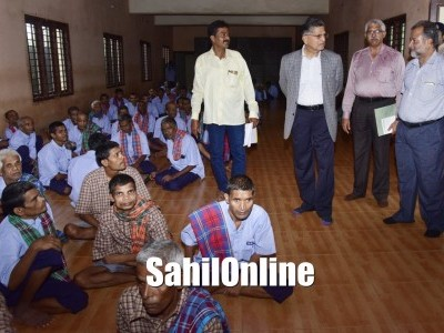 Mangaluru: Lokayukta Justice Vishwanath Shetty paid visits to Rehabilitation Centre