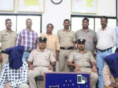 اڈپی کے ایک گھر میں ہوئی چوری کا معاملہ پولیس نے کیا حل۔ 2ملزمین گرفتار۔ 1.7لاکھ روپے مالیت کا مسروقہ مال برآمد