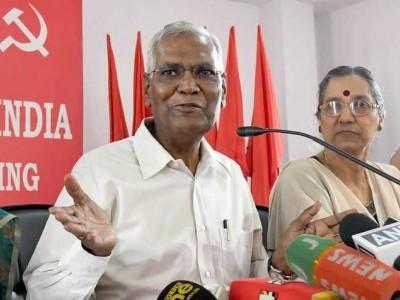 انتخابات کے بعد سی پی آئی میں بڑی تبدیلی، ڈی راجہ بنے نئے سیکریٹری جنرل