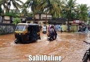 Heavy showers continue to batter Kodagu, Uttara Kannada
