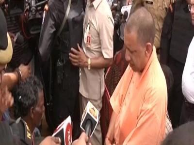 Sonbhadra: UP CM Yogi Adityanath visits firing victims' families