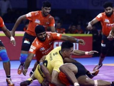 U Mumba beat Telugu Titans 30-25