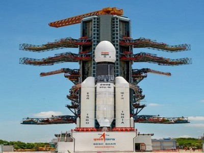 India's second moon mission launched successfully