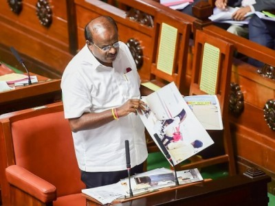 I am ready to happily sacrifice my position; Kumaraswamy