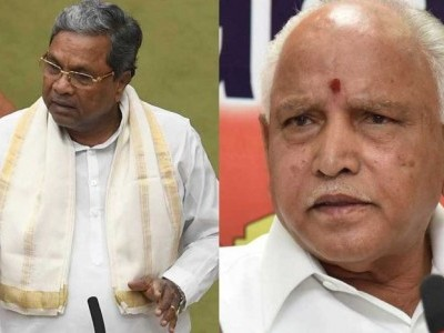 Yeddyurappa, Siddaramaiah in wordy duel over whip