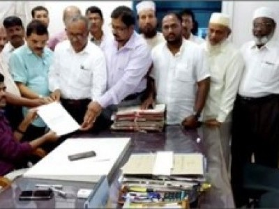 انجمن ِ اسلام اور اترکنڑامسلم تنظیموں کی جانب سے ہبلی میں حج بھون تعمیرکا مطالبہ : میمورنڈم