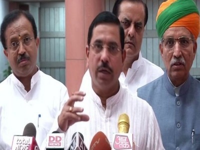 Karnataka Speaker has acted in most partisan manner: Union Minister Pralhad Joshi