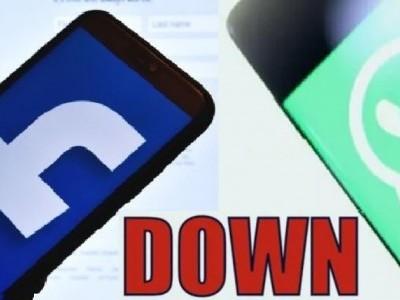 وہاٹس ایپ، فیس بُک، انسٹاگرام، مسینجر سروس ڈاون؛ فوٹوز اور وڈیوز نہیں ہورہے ہیں  ڈاون لوڈ؛  بڑی ہیکنگ یا سائبر وار کی شروعات ؟