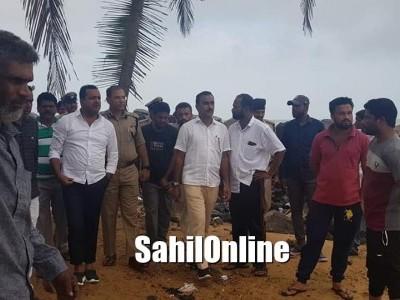 Minister UT Khader visits Sea area in Ullal; assures of providing proper facilities