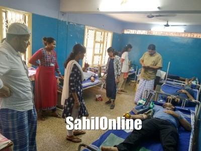 Blood donation camp held at Bhatkal Asiya hospital
