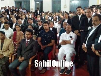 Condolence meet of late senior advocate Seetaram Shetty held in Mangaluru