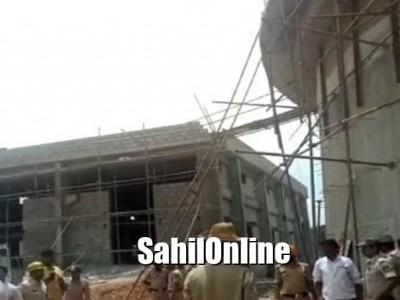 ಬೆಂಗಳೂರು: ನಿರ್ಮಾಣ ಹಂತದ ಟ್ಯಾಂಕ್ ಕುಸಿದು ಮೂವರ ಸಾವು: ಅವಶೇಷಗಳಡಿ ಹಲವರು