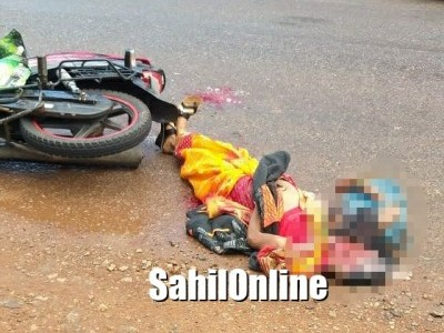 Woman killed in Kumta road accident