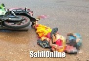 Woman killed in Kumta road accident