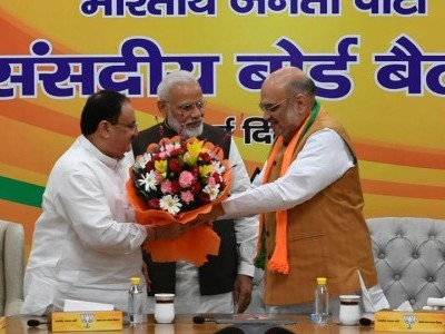 J P Nadda appointed BJP's working president