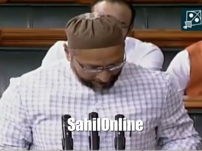 'Jai Bheem, Jai Meem, Takbeer Allahu Akbar, Jai Hind': Asaduddin Owaisi responds to Jai Shri Ram during oath-taking