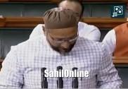 'Jai Bheem, Jai Meem, Takbeer Allahu Akbar, Jai Hind': Asaduddin Owaisi responds to Jai Shri Ram during oath-taking