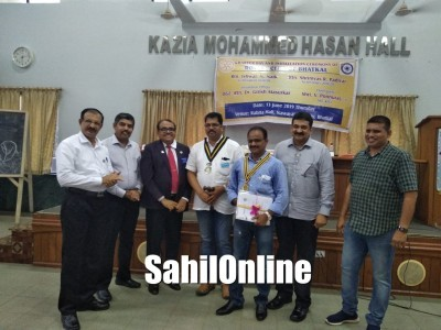 New team at Rotary Club Bhatkal Installed
