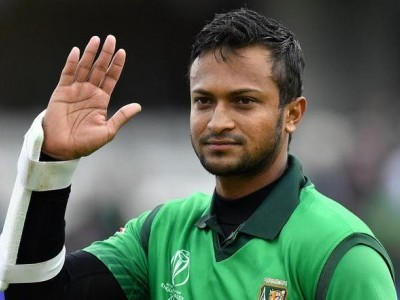 Shakib Al Hasan smashes century as Bangladesh beat West Indies by 7 wickets