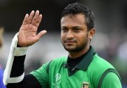 شکیب الحسن کی شاندار سنچری کی بدولت  بنگلہ دیش نے ویسٹ انڈیز کو 7 وکٹوں سے شکست دیدی