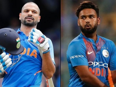 Shikhar Dhawan ruled out of World Cup, Rishab Pant drafted into India squad