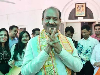 Om Birla chosen as Lok Sabha speaker