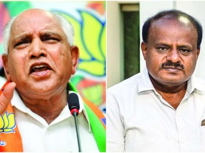 Yeddyurappa took Rs 20 crore from JSW: Kumaraswamy