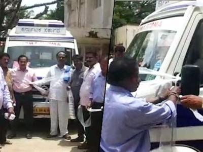 Forum stages protest against Karwar Hospital