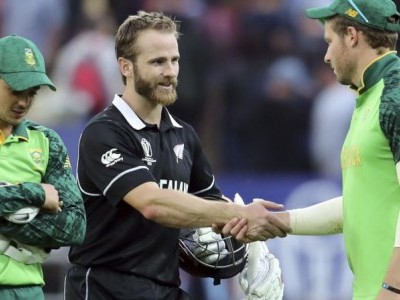 ICC CWC'19: Kane Williamson, Colin de Grandhomme help New Zealand home versus Proteas