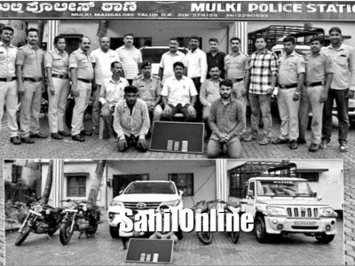 Two interstate thieves arrested in Mangaluru