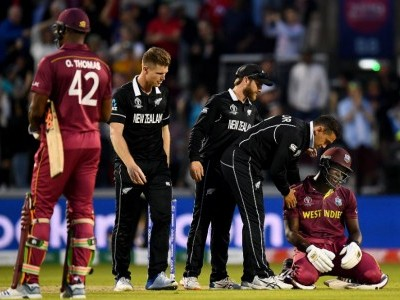 Williamson's 148 trumps Brathwaite's maiden ODI ton as NZ beat WI by five runs