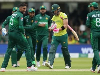 عالمی کپ: پاکستان نے جنوبی افریقہ کو 49 رنوں سے ہرایا
